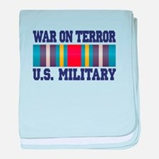 War On Terror Service Ribbon baby blanket