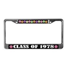Class of 1978 License Plate Frame