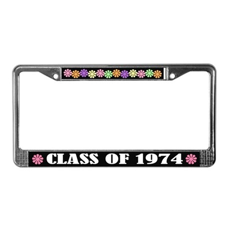 Class of 1974 License Plate Frame