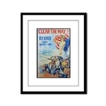 Clear the Way Poster Art Framed Panel Print