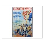 Clear the Way Poster Art Small Poster