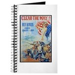 Clear the Way Poster Art Journal