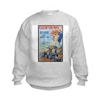 Clear the Way Poster Art Kids Sweatshirt