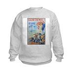 Clear the Way Poster Art (Front) Kids Sweatshirt