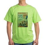 Clear the Way Poster Art Green T-Shirt