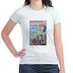 Clear the Way Poster Art Jr. Ringer T-Shirt