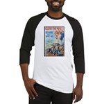 Clear the Way Poster Art Baseball Jersey
