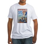 Clear the Way Poster Art (Front) Fitted T-Shirt