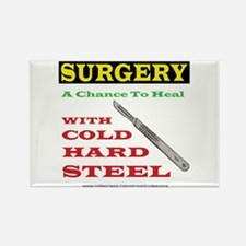 A Chance To Heal Rectangle Magnet