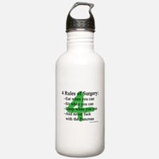4 Rules of Surgery Water Bottle