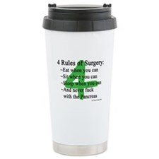 4 Rules of Surgery Travel Mug