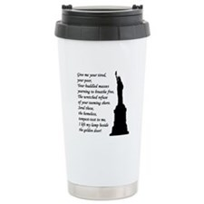Give me your tired... Travel Mug