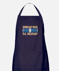 Korean War Service Ribbon Apron (dark)
