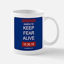 Unique March keep fear alive Mug
