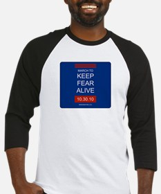 Unique March keep fear alive Baseball Jersey