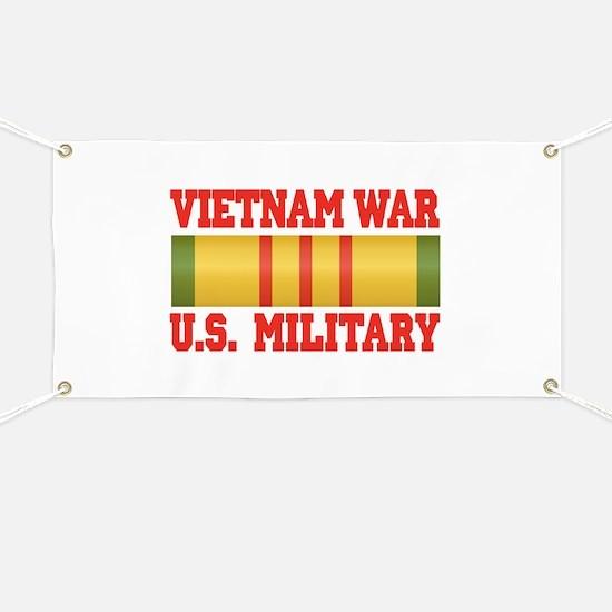 Vietnam War Service Ribbon Banner