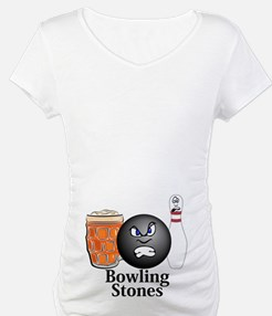 Bowling Stones Logo 10 Shirt Design on