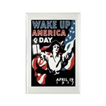 Wake Up America Day Rectangle Magnet (10 pack)