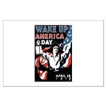 Wake Up America Day Large Poster