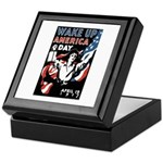Wake Up America Day Keepsake Box
