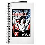 Wake Up America Day Journal