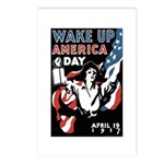 Wake Up America Day Postcards (Package of 8)
