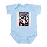 Wake Up America Day Infant Creeper