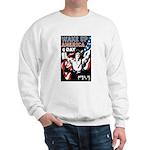 Wake Up America Day (Front) Sweatshirt