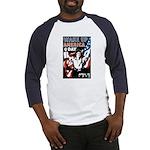 Wake Up America Day (Front) Baseball Jersey