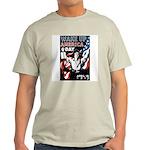 Wake Up America Day Ash Grey T-Shirt