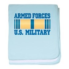 Armed Forces Service Ribbon baby blanket