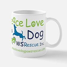 Cute Peace love adopt Mug