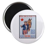 American Red Cross Animal Relief Magnet