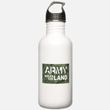 Army Rules Green Camo Water Bottle