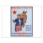 American Red Cross Animal Relief Small Poster