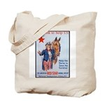 American Red Cross Animal Relief Tote Bag
