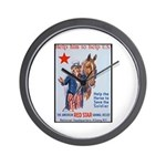 American Red Cross Animal Relief Wall Clock