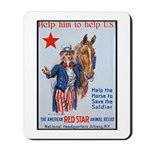 American Red Cross Animal Relief Mousepad