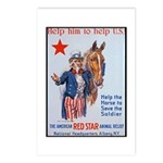 American Red Cross Animal Relief Postcards (Packag