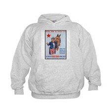 American Red Star Animal Relief (Front) Hoodie