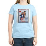 American Red Cross Animal Relief Women's Pink T-Sh