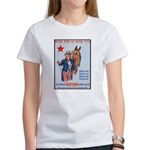 American Red Star Animal Relief (Front) Women's T-