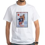 American Red Cross Animal Relief White T-Shirt