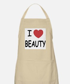 I heart beauty Apron