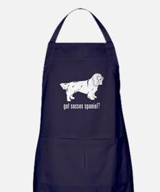 Sussex Spaniel Apron (dark)