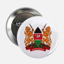 "Kenya Coat of Arms 2.25"" Button (10 pack)"