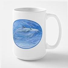 mom & baby dolphin Mug
