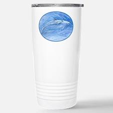 mom & baby dolphin Travel Mug