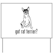Rat Terrier 1 Yard Sign