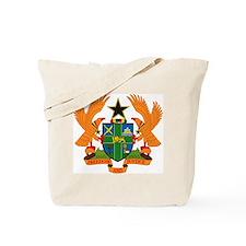 Ghana Coat of Arms Tote Bag